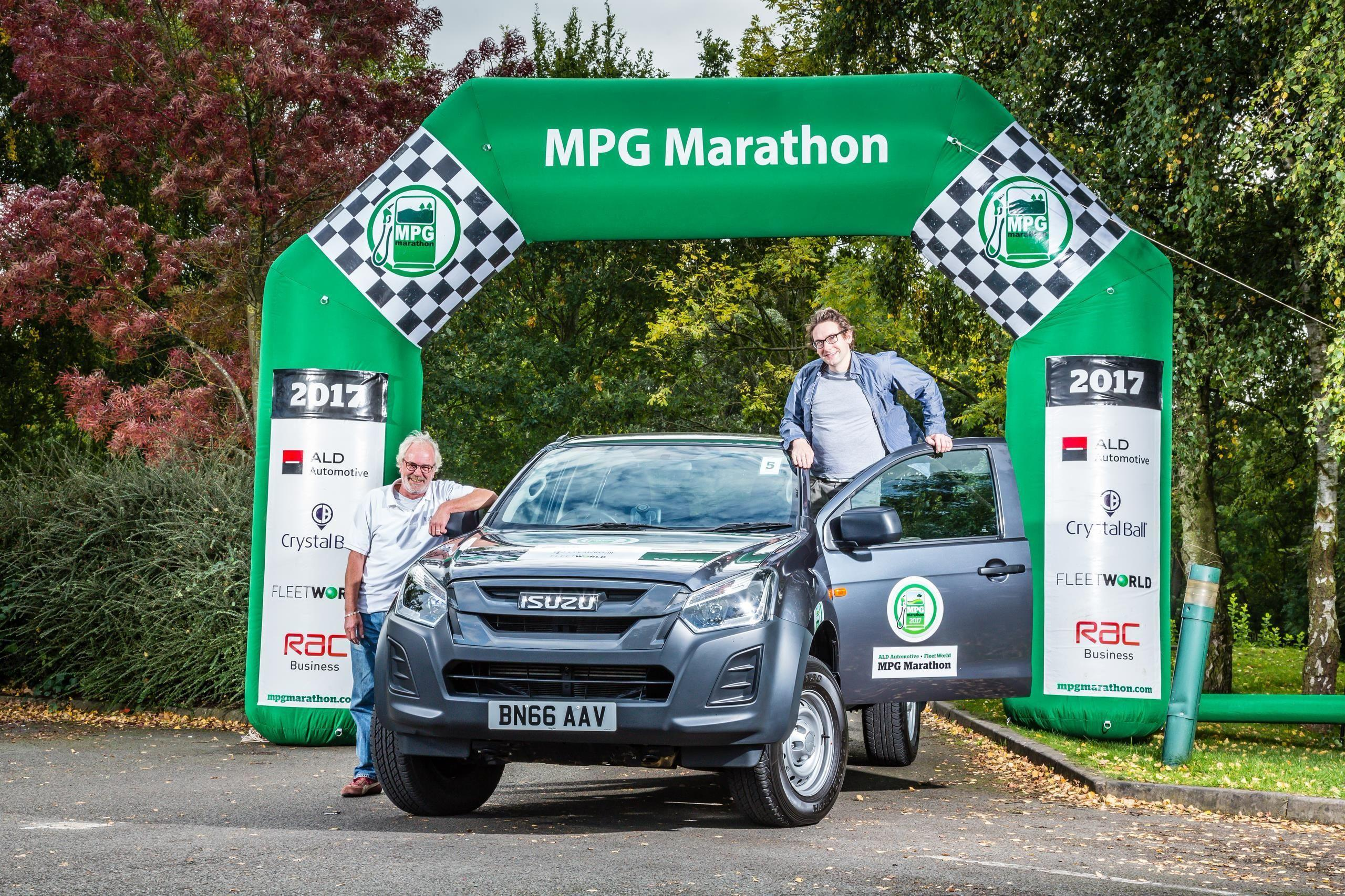 ISUZU SUCCESS IN 2017 MPG MARATHON